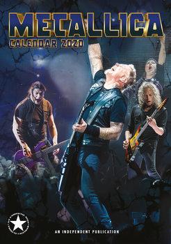 Calendário 2020  Metallica