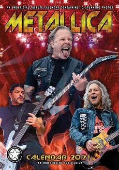 Calendário 2021 Metallica