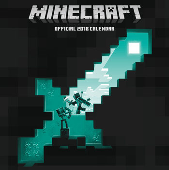 Calendário 2018 Minecraft