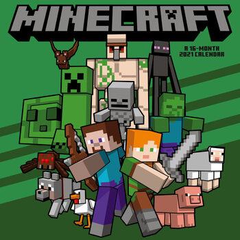 Calendário 2021 Minecraft
