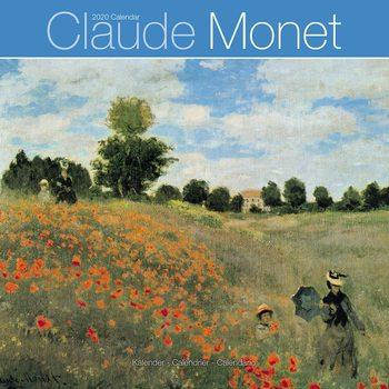 Calendário 2020  Monet