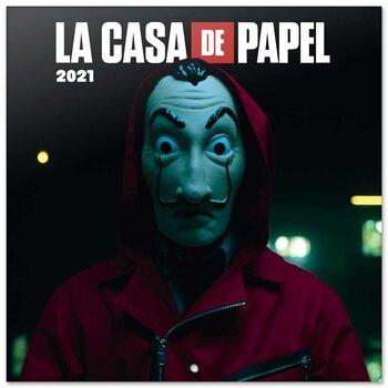 Calendário 2021 Money Heist (La Casa De Papel)
