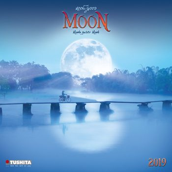 Calendário 2019  Moon, Good Moon
