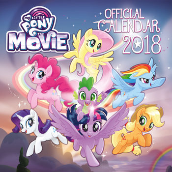 Calendário 2018 My Little Pony Movie