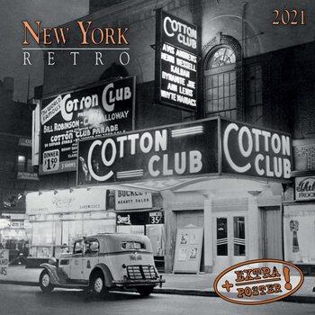 Calendário 2021 New York Retro