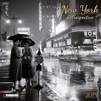 Calendário 2019  New York Retrospective