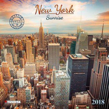 Calendário 2018 New York Sunrise