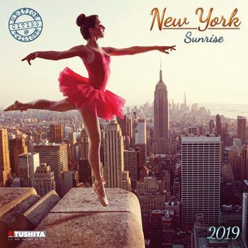 Calendário 2019  New York Sunrise