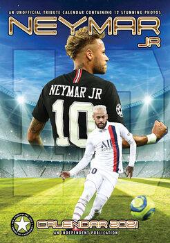 Calendário 2021 Neymar