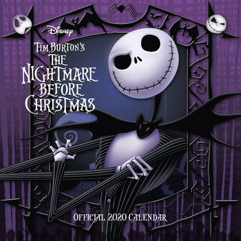 Calendário 2020  Nightmare Before Christmas