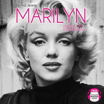 Calendário 2017 Norma Jeane (Marylin)