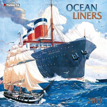 Calendário 2020  Ocean liners