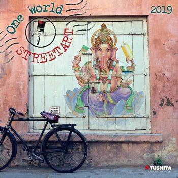 Calendário 2019  One World Street Art