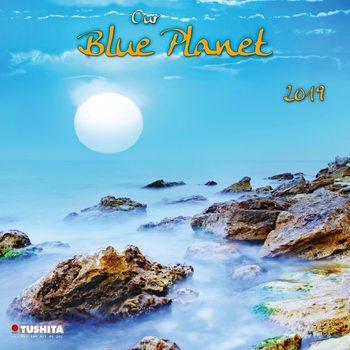 Calendário 2019  Our blue Planet
