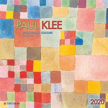 Calendário 2020  P. Klee - Rectangular Colours