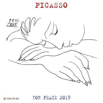 Calendário 2019  P. Picasso - War and Peace