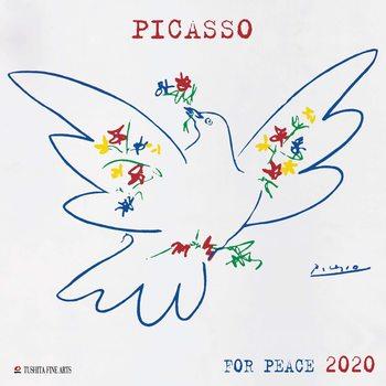 Calendário 2020  P. Picasso - War and Peace