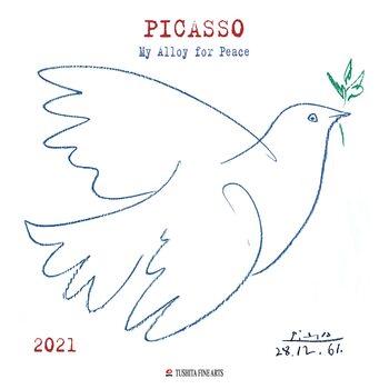 Calendário 2021 Pablo Picasso - My Alloy For Peace
