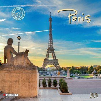 Calendário 2020  Paris
