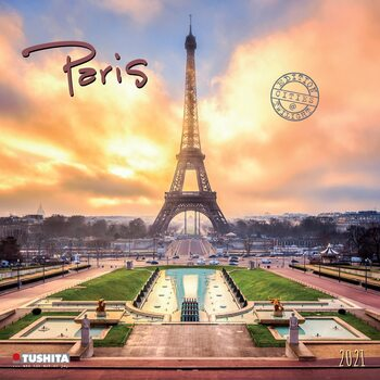 Calendário 2021 Paris