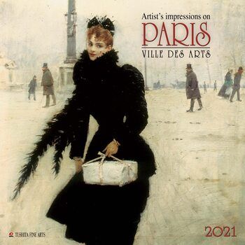 Calendário 2021 Paris - Ville des Arts