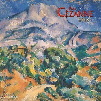 Calendário 2018  Paul Cezanne