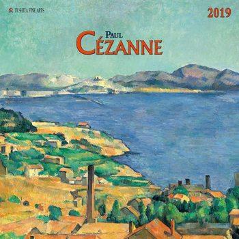 Calendário 2020  Paul Cezanne