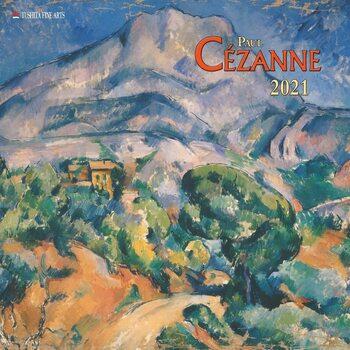 Calendário 2021 Paul Cezanne