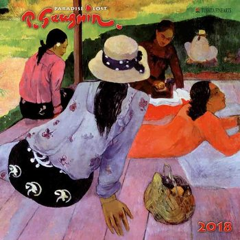 Calendário 2018  Paul Gaugin - Paradise Lost