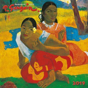 Calendário 2019  Paul Gaugin - Paradise Lost