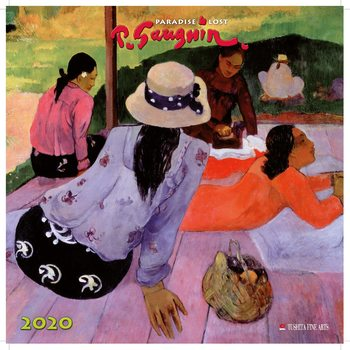 Calendário 2020  Paul Gauguin - Paradise Lost