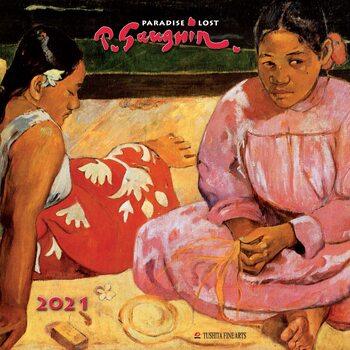 Calendário 2021 Paul Gauguin - Paradise Lost