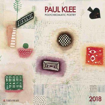 Calendário 2018  Paul Klee - Polychromatic Poetry