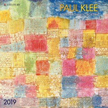 Calendário 2019  Paul Klee - Polychromatic Poetry
