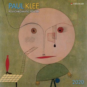 Calendário 2020  Paul Klee - Polychromatic Poetry