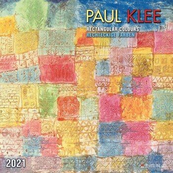 Calendário 2021 Paul Klee - Rectangular Colours