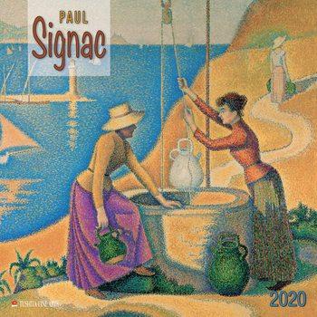 Calendário 2020  Paul Signac