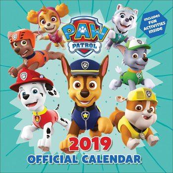Calendário 2019  Paw Patrol