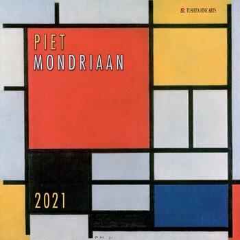 Calendário 2021 Piet Mondriaan