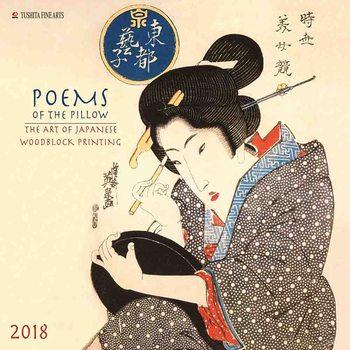 Calendário 2018  Poems of the Pillow