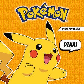 Calendário 2020  Pokemon