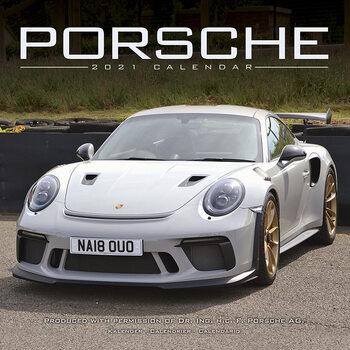 Calendário 2021 Porsche