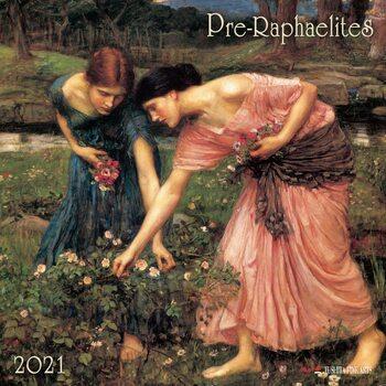 Calendário 2021 Pre-Raphaelites