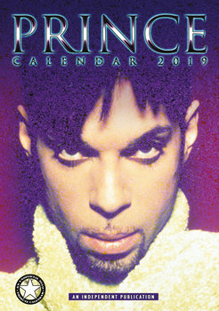 Calendário 2019  Prince