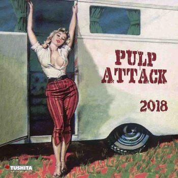 Calendário 2018 Pulp Attack
