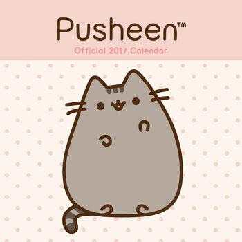 Calendário 2017 Pusheen