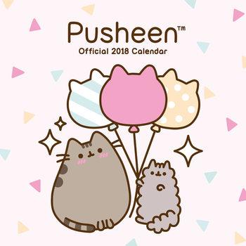 Calendário 2018 Pusheen