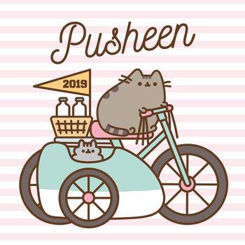 Calendário 2019  Pusheen
