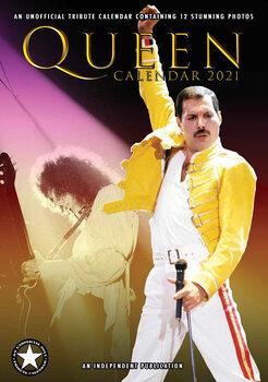 Calendário 2021 Queen
