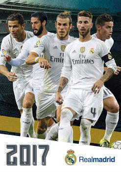 Calendário 2017 Real Madrid